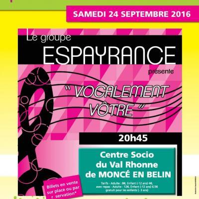 VIRADES DE L'ESPOIR, MONCE EN BELIN_24 septembre 2016