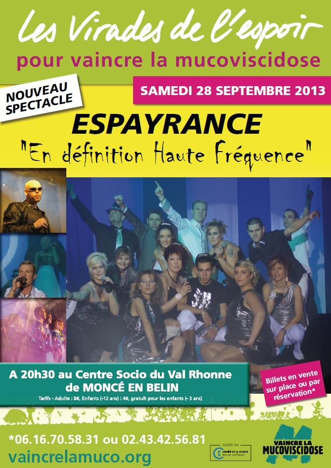LES VIRADES DE L'ESPOIR - Moncé - Septembre 2013