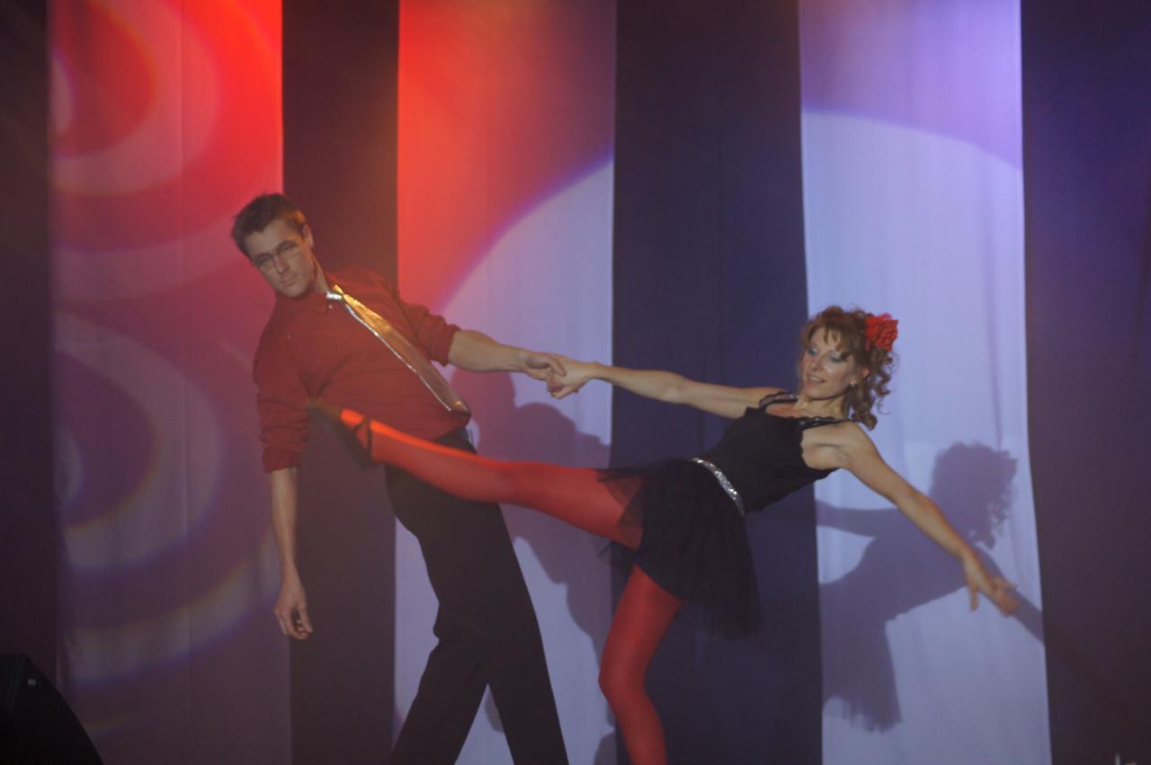 Danse Alexandra et Julien