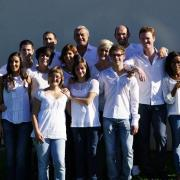 photo de groupe avec Mr Pierre LEMARCHAL