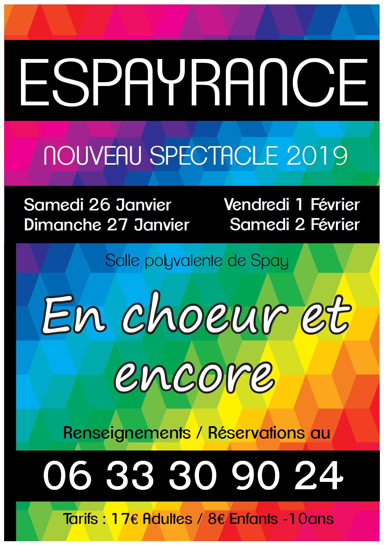 Affiche espayrance 2019 validee